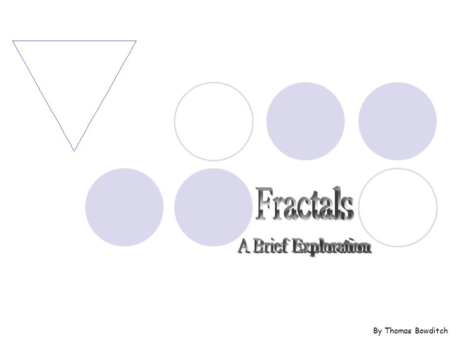 A fractal is generally, a rough or fragmented geometric shape that can be subdivided in parts, each of which is (at least approximately) a reduced-size copy of the whole, This is a property called self-similarity.