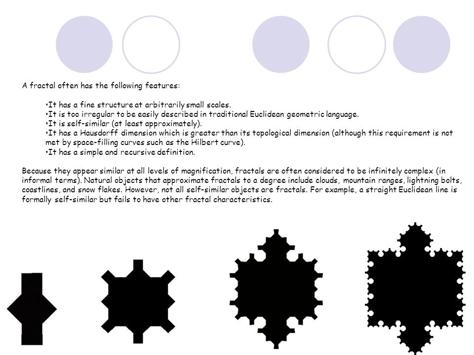 The Koch snowflake is a Mathematical curve and one of the earliest fractal curves to have been described.