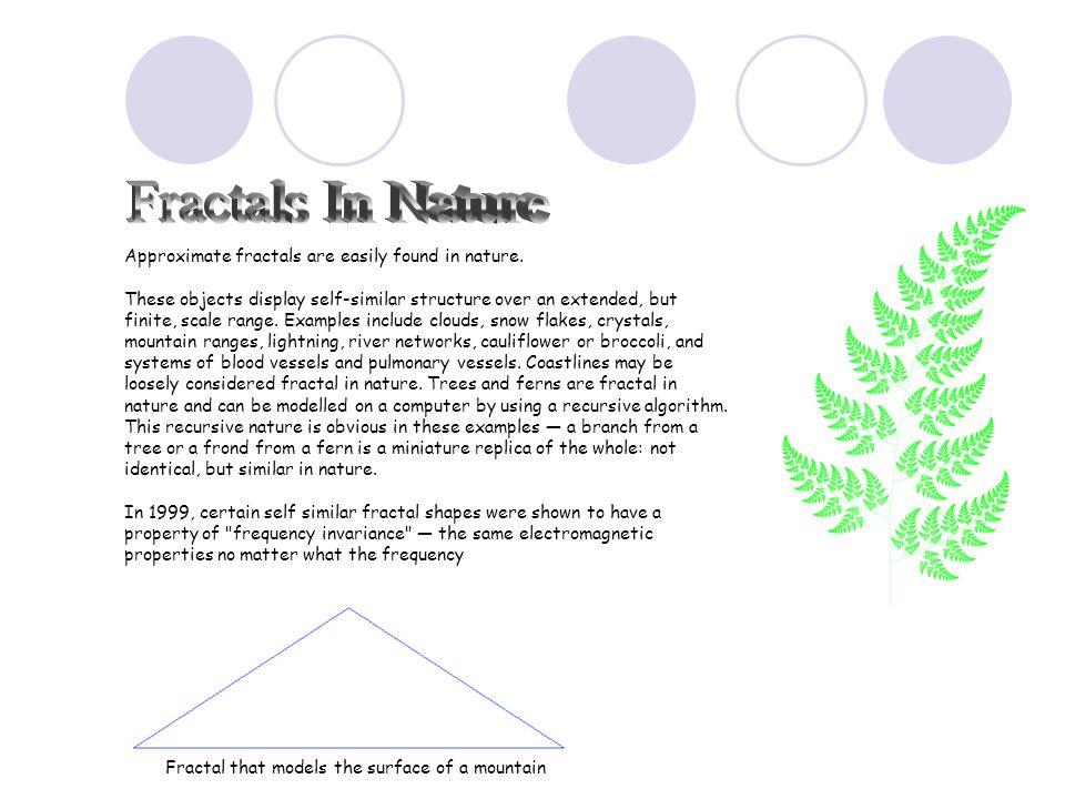 Mandelbrot, B.B.(1982). The Fractal Geometry of Nature.