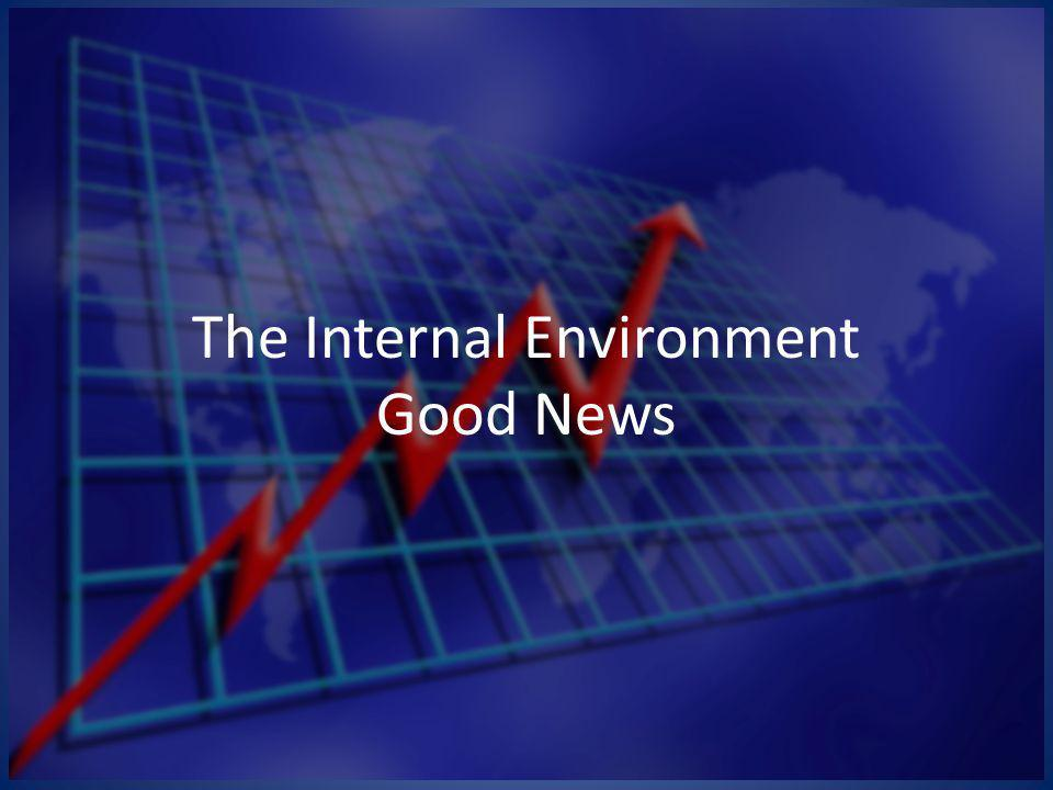 The Internal Environment Good News