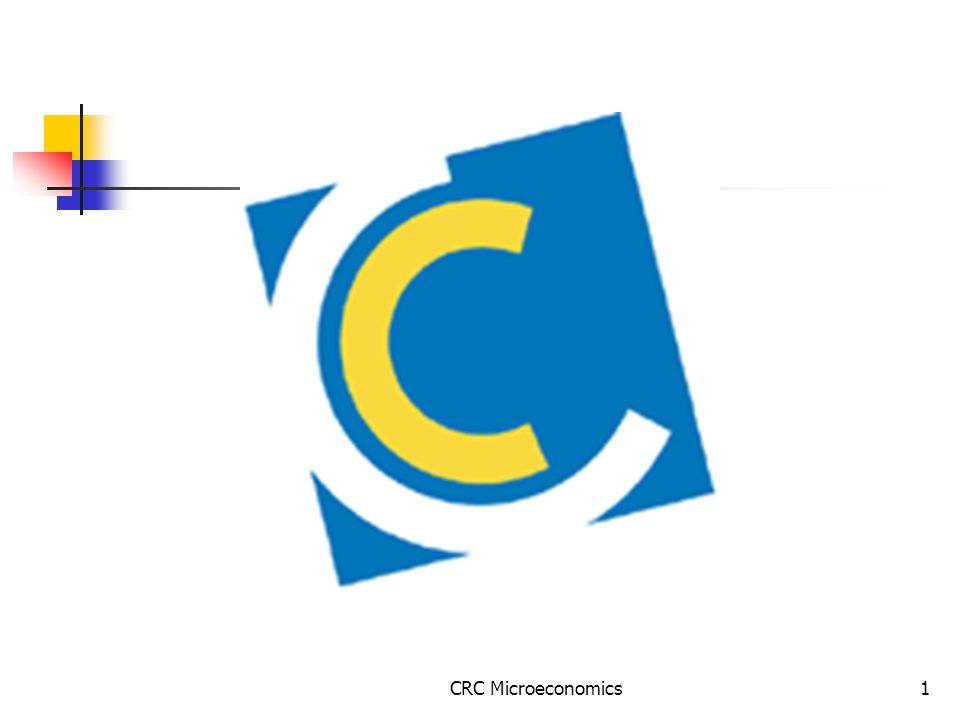 CRC Microeconomics1