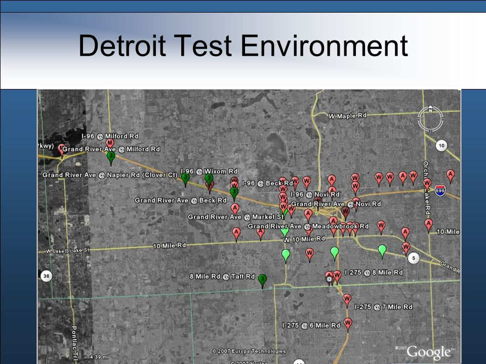 Detroit Test Environment