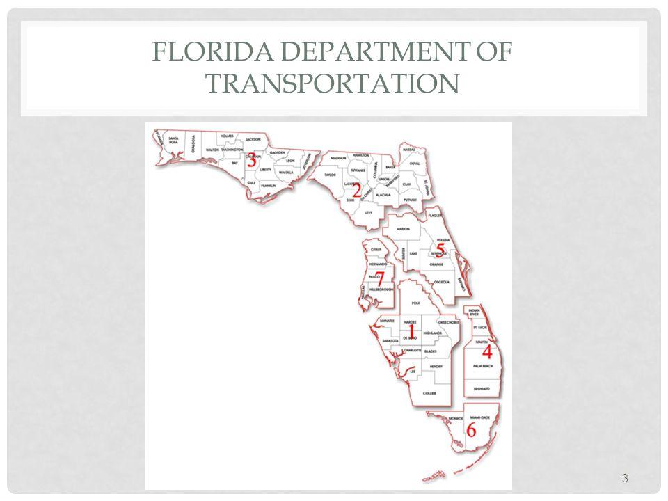 3 FLORIDA DEPARTMENT OF TRANSPORTATION