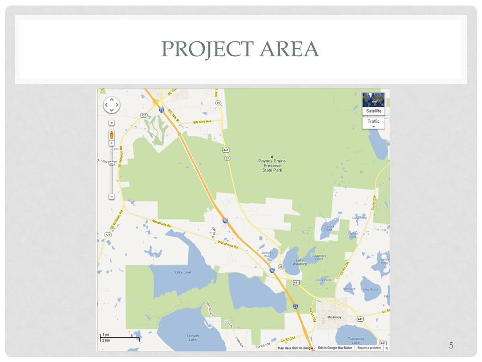5 PROJECT AREA