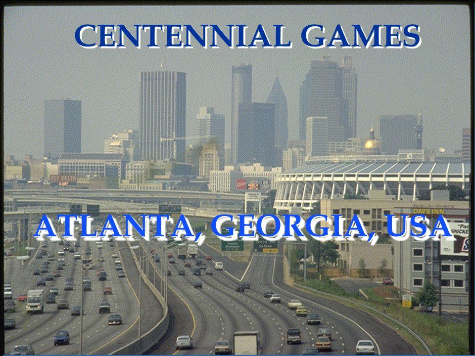 ATLANTA, GEORGIA, USA CENTENNIAL GAMES