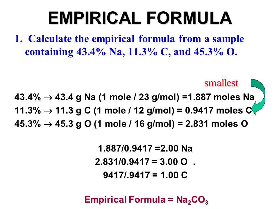 EMPIRICAL FORMULA.2.
