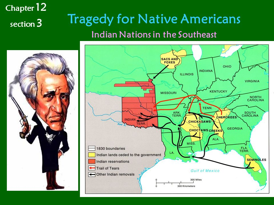 Tragedy for Native Americans Chapter 12 section 3 Indian Nations in the Southeast