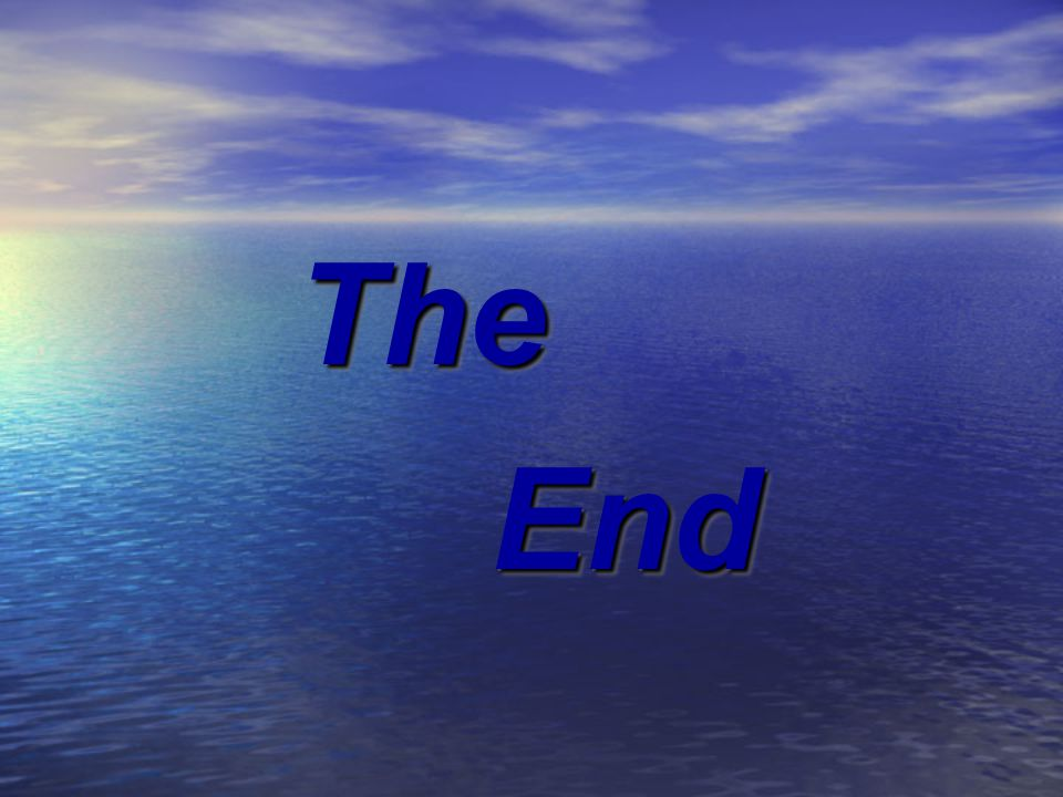 The End EndThe
