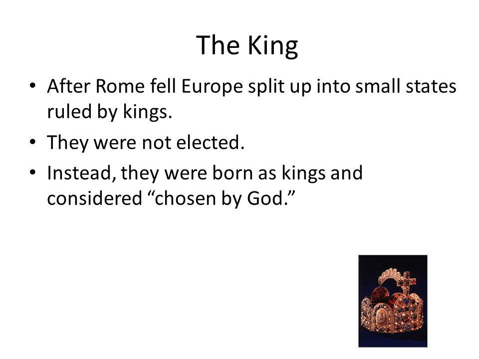 The Birth of Kings