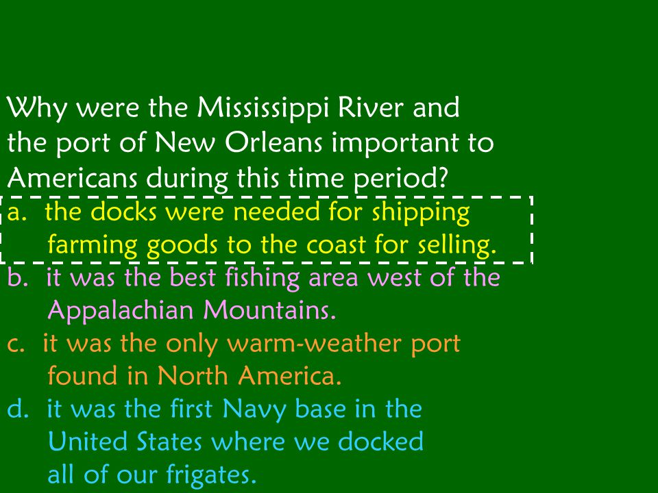 How did George Washington try to keep the port of New Orleans open for American farmers.