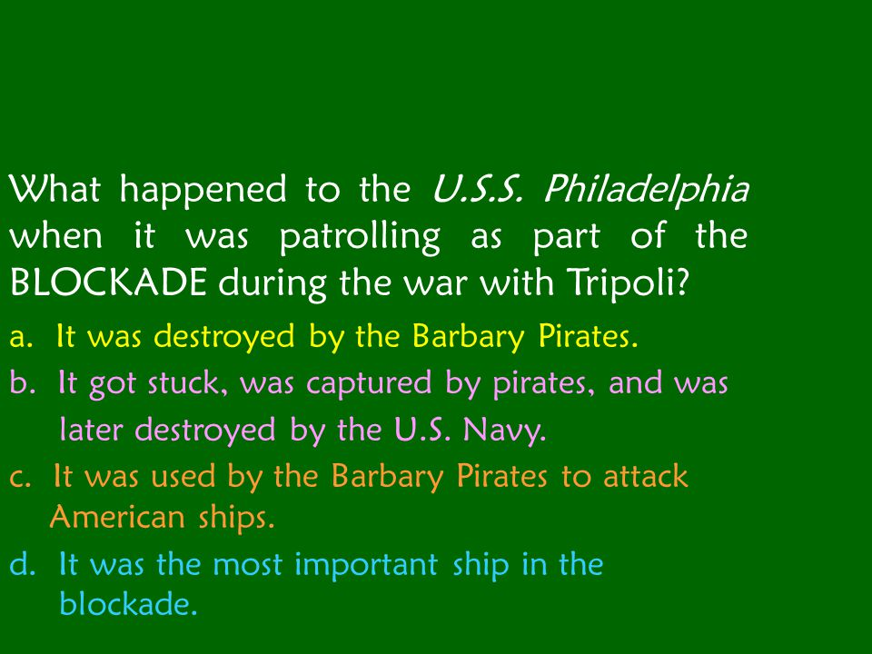 What happened to the U.S.S.