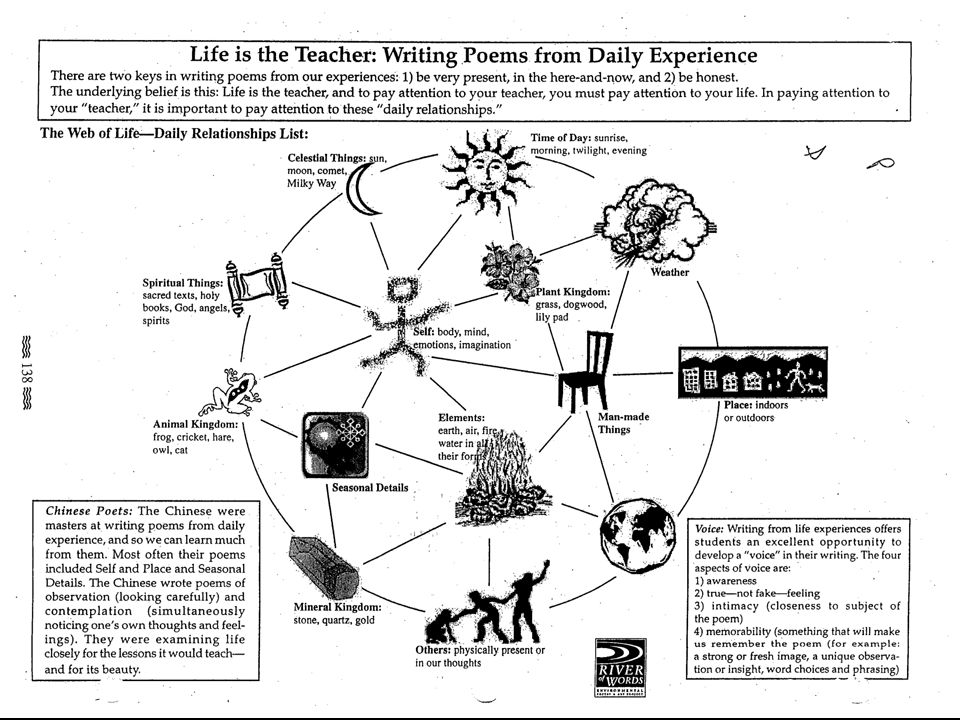 Poems from the ecological web