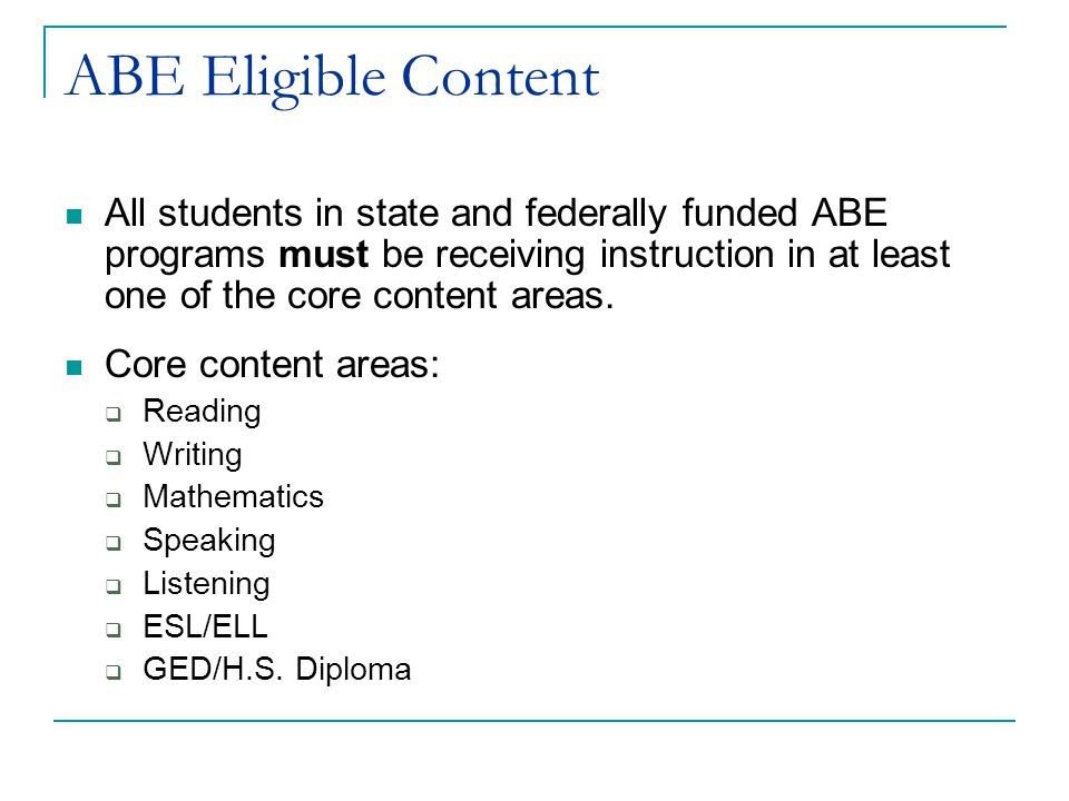 Distance Learning Policy For more information about student eligibility, approved distance curricula, and proxy contact hours, please refer to the MN ABE Distance Learning Policy at http://mnabe.themlc.org/http://mnabe.themlc.org/