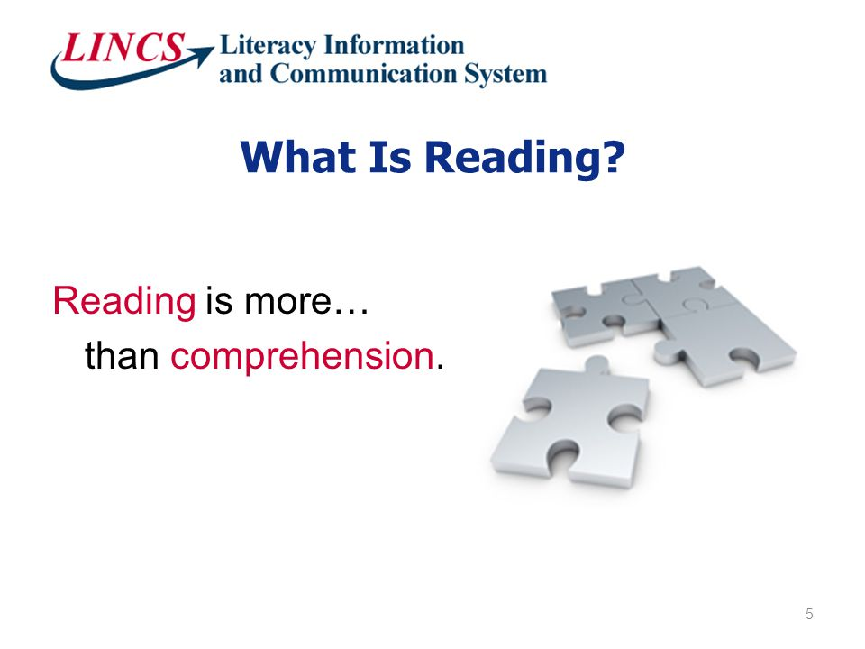 Reading Components 6