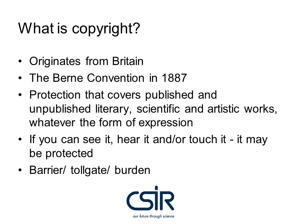 International copyright and IP controlling bodies Berne Convention UCC Geneva UCC Paris TRIPS WCT WIPO ARIPO WTO