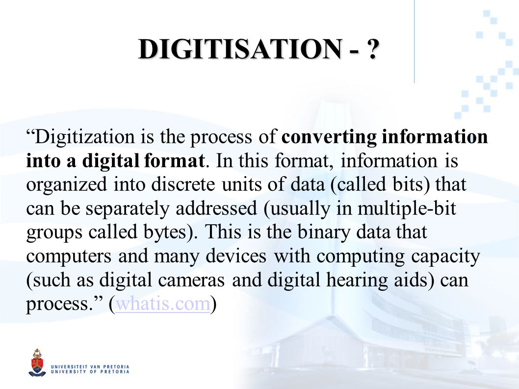 HISTORY OF INFORMATION