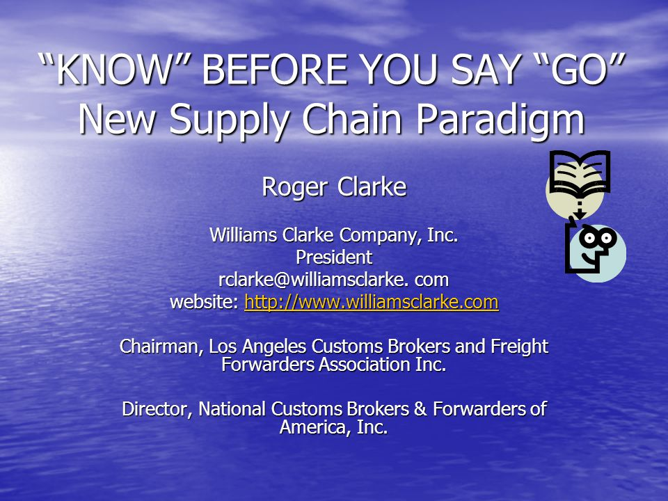 Supply Chain Considerations To Mitigate Delays and Costs Know who you are dealing with for both imports and exports Know who you are dealing with for both imports and exports Logistics Challenges Logistics Challenges Provide proper and complete documentation Provide proper and complete documentation