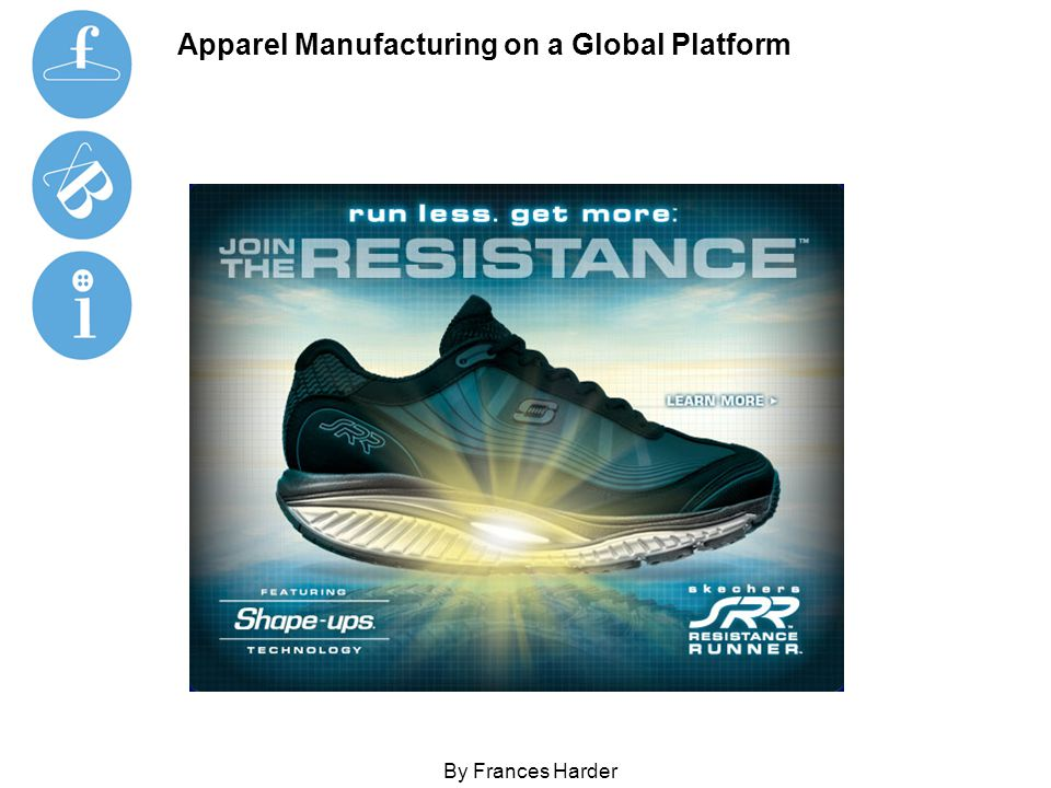 Apparel Manufacturing on a Global Platform By Frances Harder