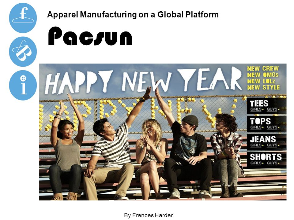 Apparel Manufacturing on a Global Platform Pacsun By Frances Harder