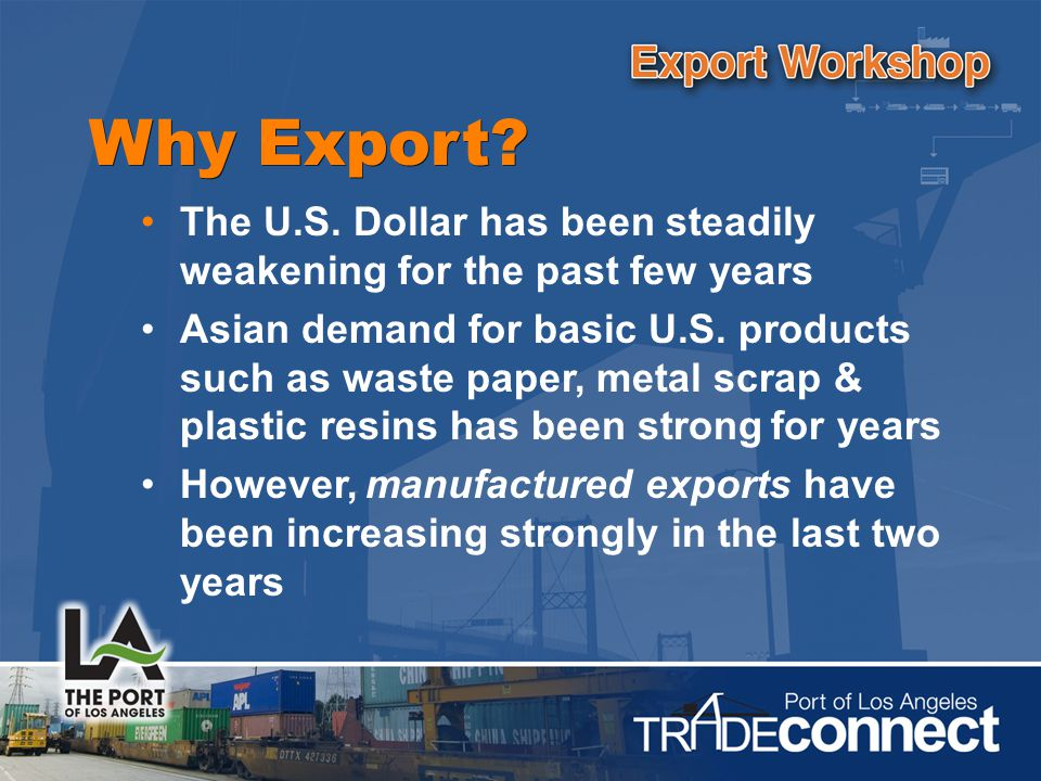 Why Export.