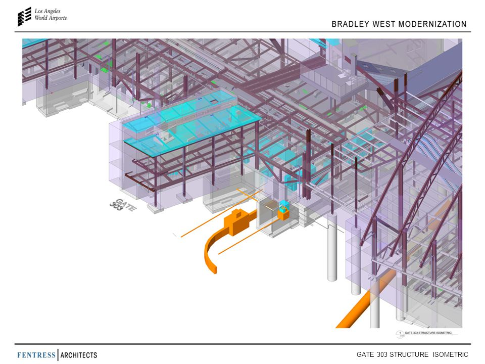 GATE 303 STRUCTURE ISOMETRIC
