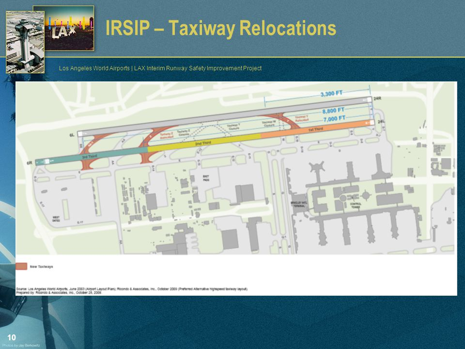 10 Los Angeles World Airports | LAX Interim Runway Safety Improvement Project IRSIP – Taxiway Relocations