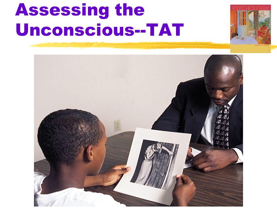 Assessing the Unconscious--TAT