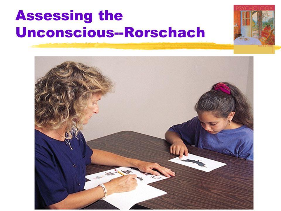 Assessing the Unconscious--Rorschach