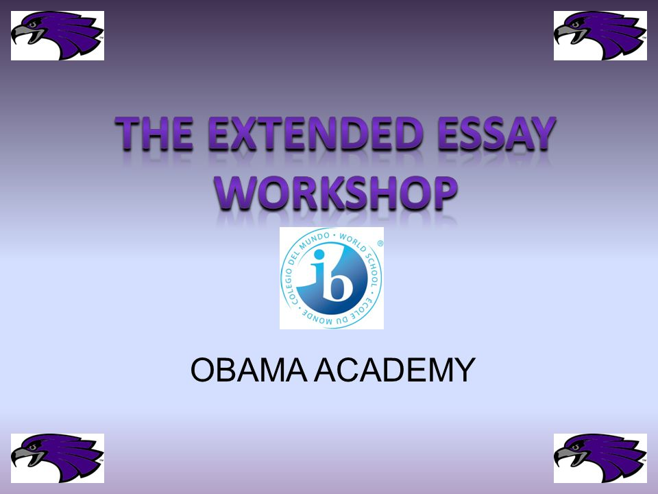Writing your question is the most difficult and important part of the Extended Essay…..Write a question that is too broad, you will struggle.