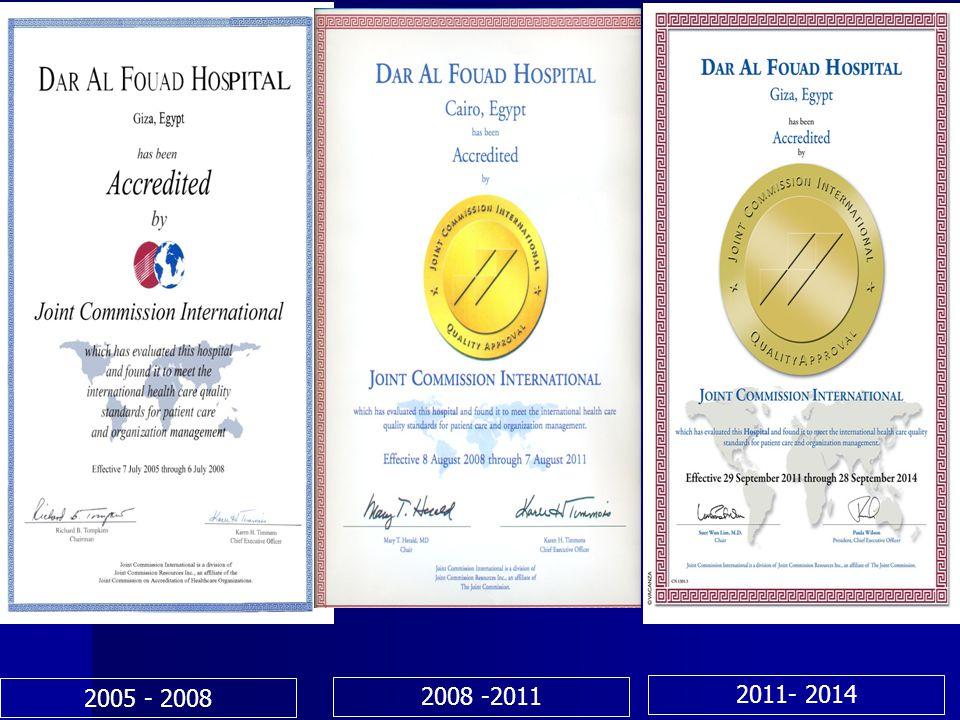 2005 - 2008 2008 -2011 2011- 2014