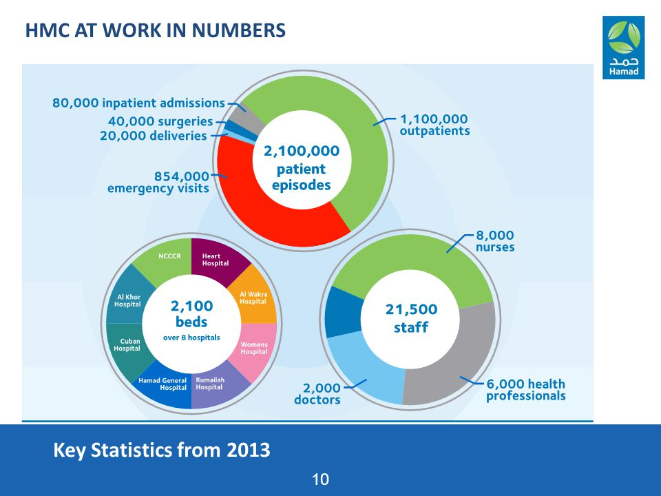 Key Statistics from 2013 10 HMC AT WORK IN NUMBERS