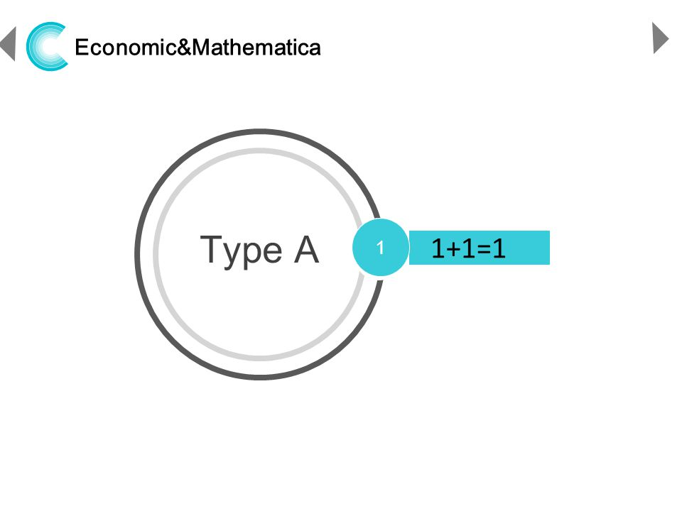 http://www.ppthi-hoo.com Economic&Mathematica Type A 1 1+1=1