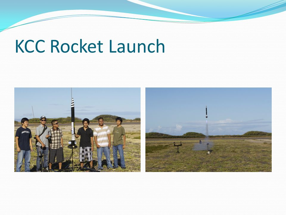 KCC Rocket Launch