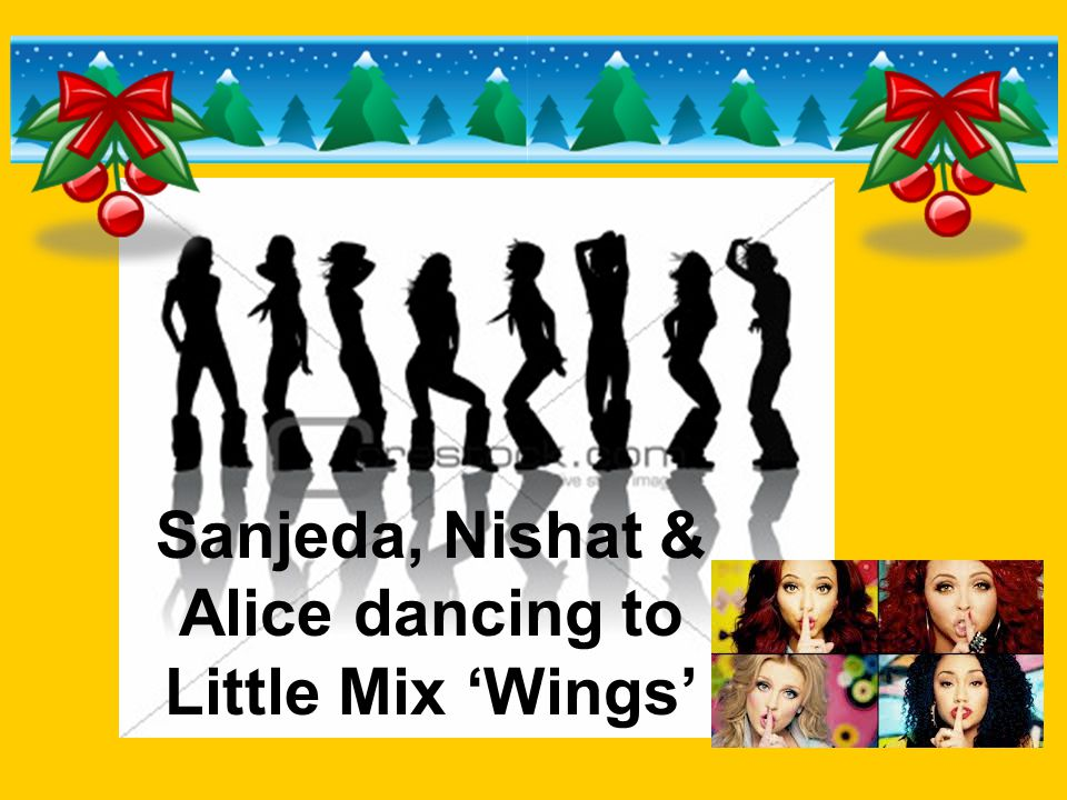 Sanjeda, Nishat & Alice dancing to Little Mix 'Wings'