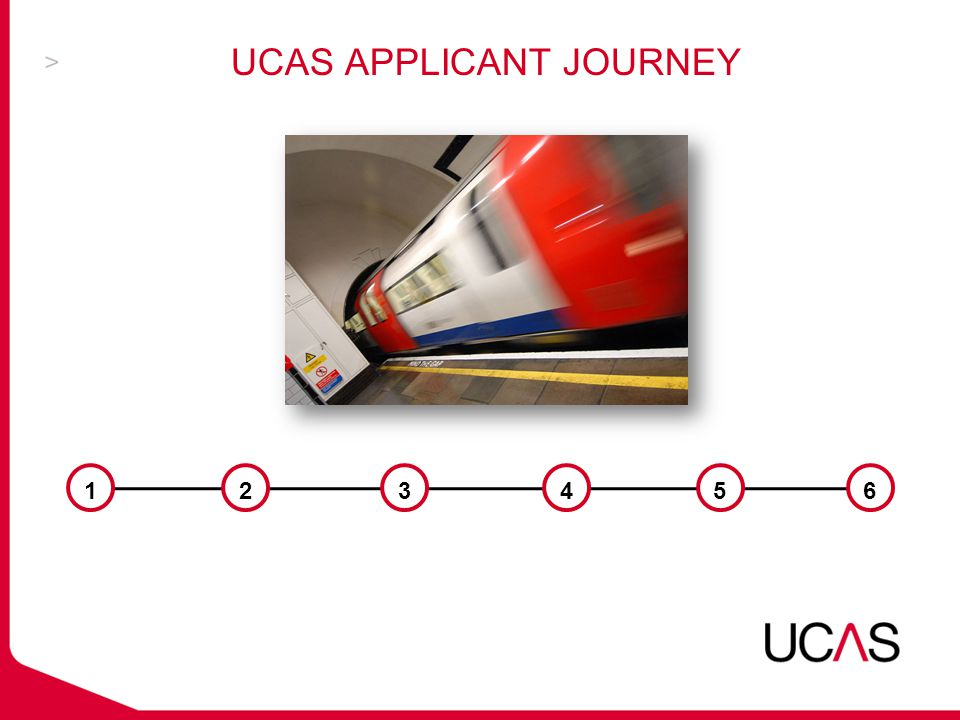 UCAS APPLICANT JOURNEY 123456