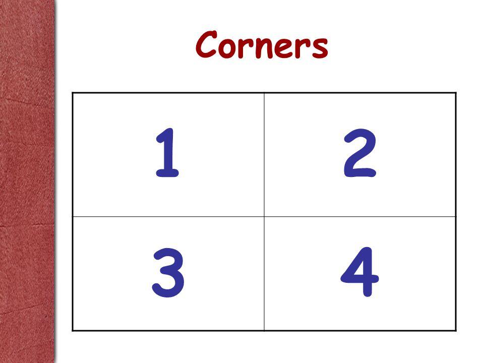 Corners 12 34