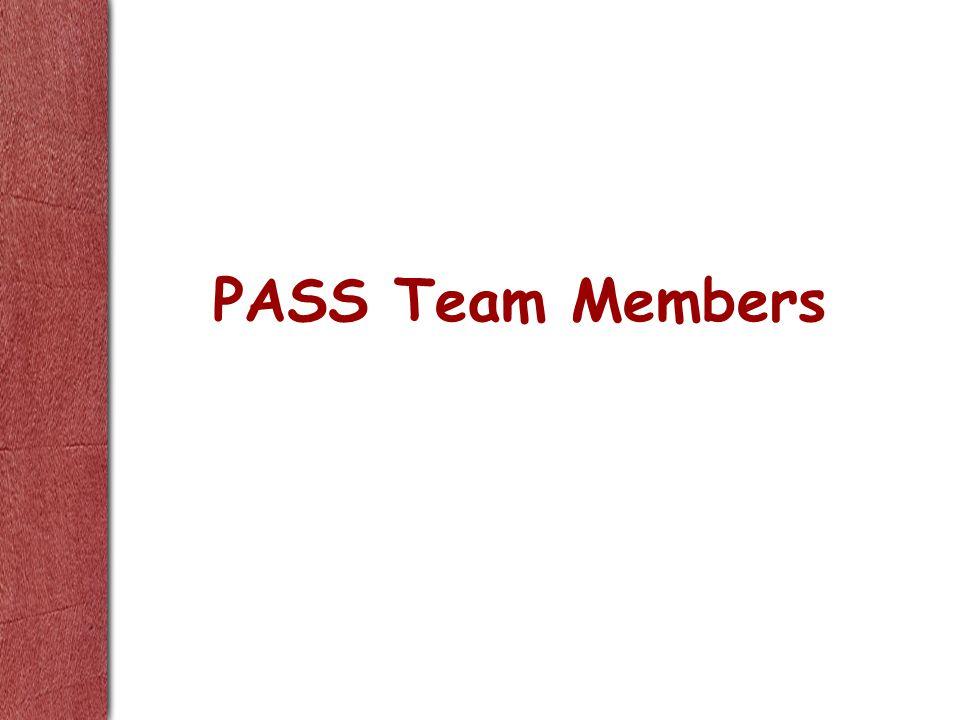 PASS Team Members