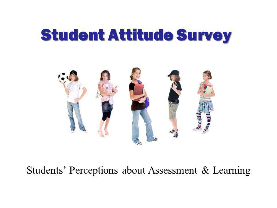 Students' Perceptions about Assessment & Learning