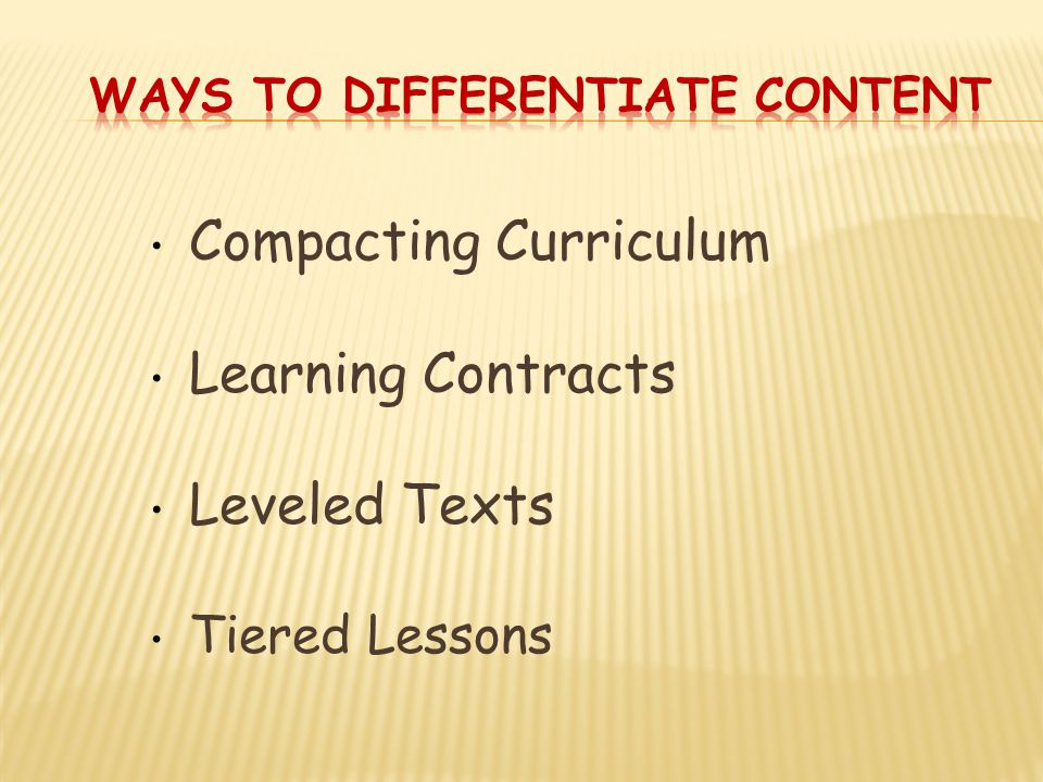Compacting Curriculum Learning Contracts Leveled Texts Tiered Lessons