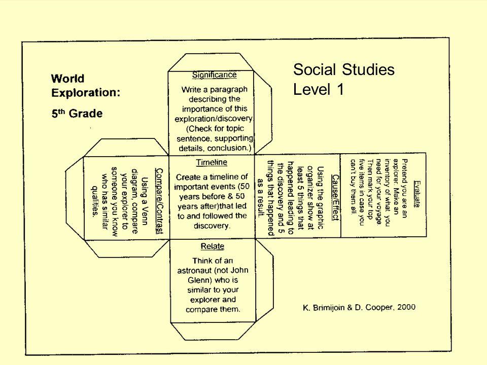 Social Studies Level 1