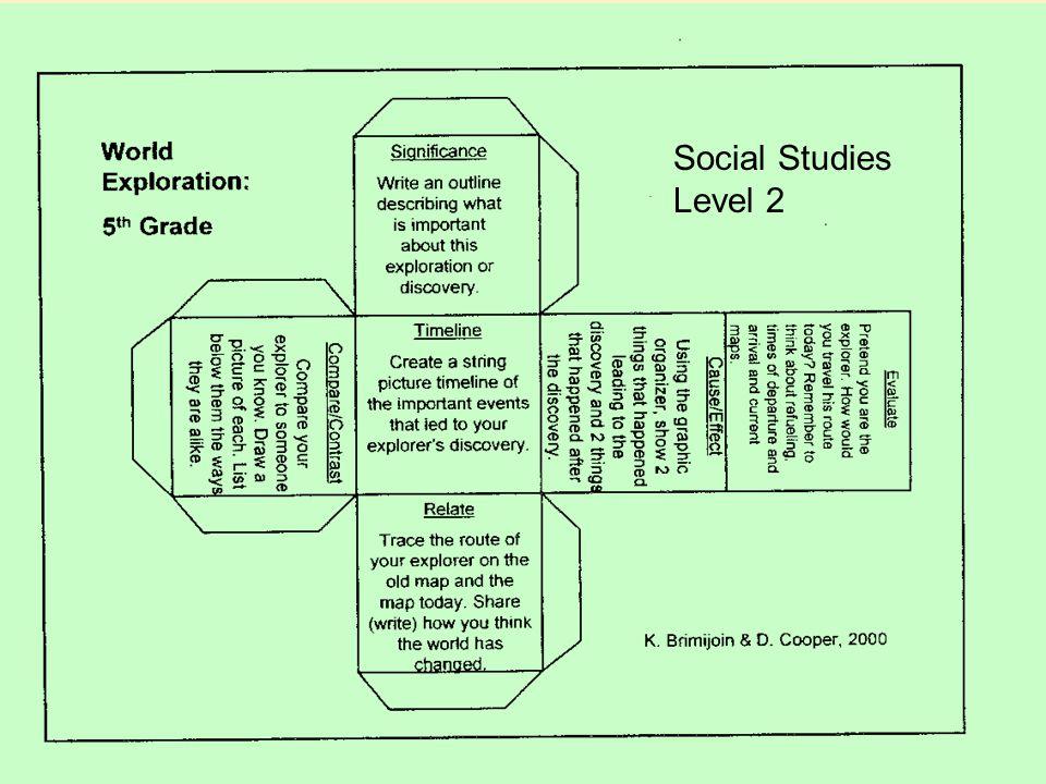 Social Studies Level 2