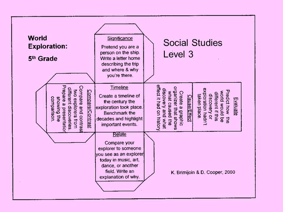 Social Studies Level 3