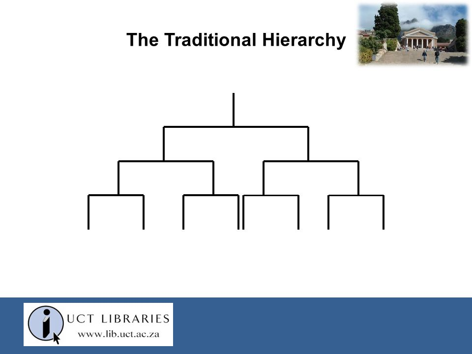 The Traditional Hierarchy