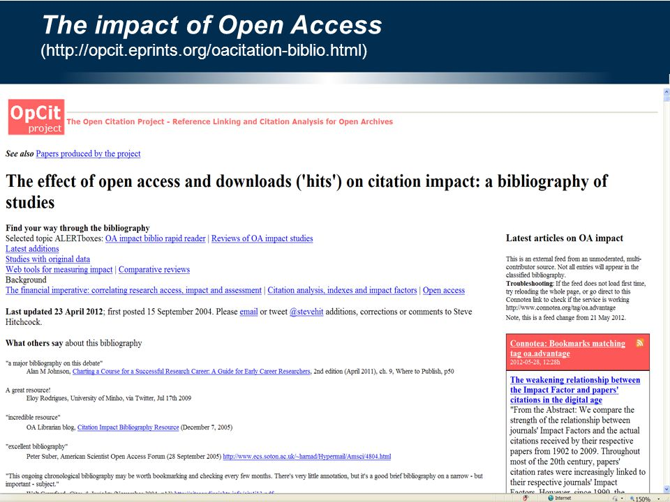 CSIR and Open Access