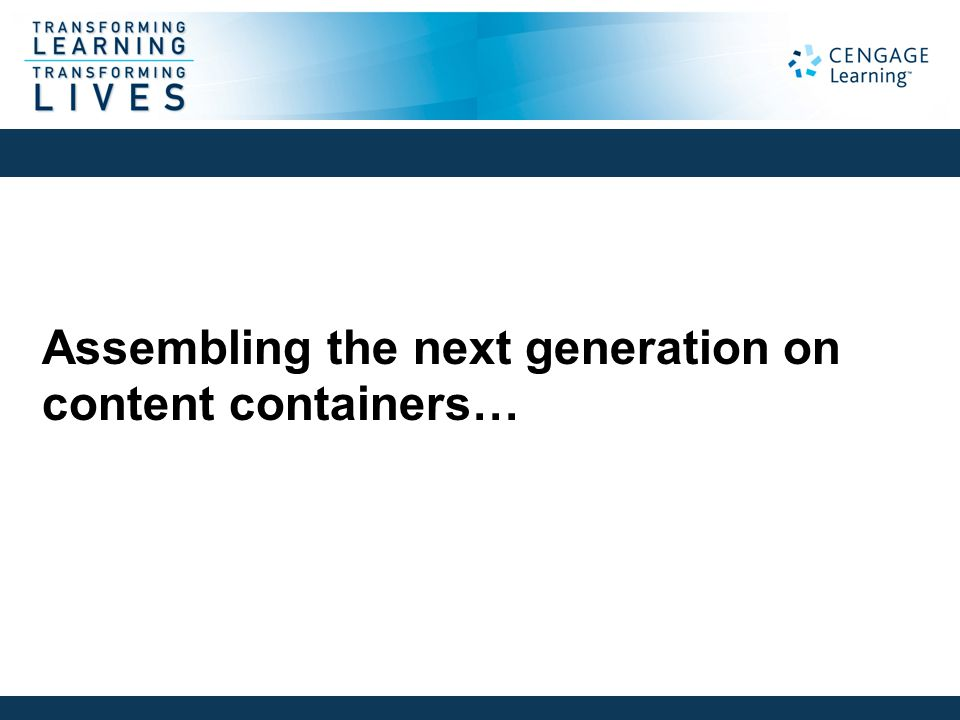 Assembling the next generation on content containers… Stephen Abram, MLS Langara College Vancouver, BC Feb. 13, 2012