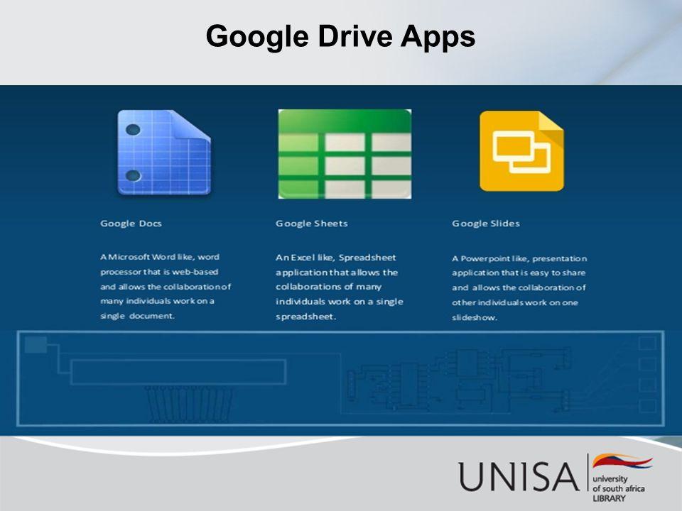 Google Drive Apps