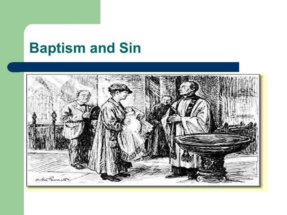 Baptism and Sin