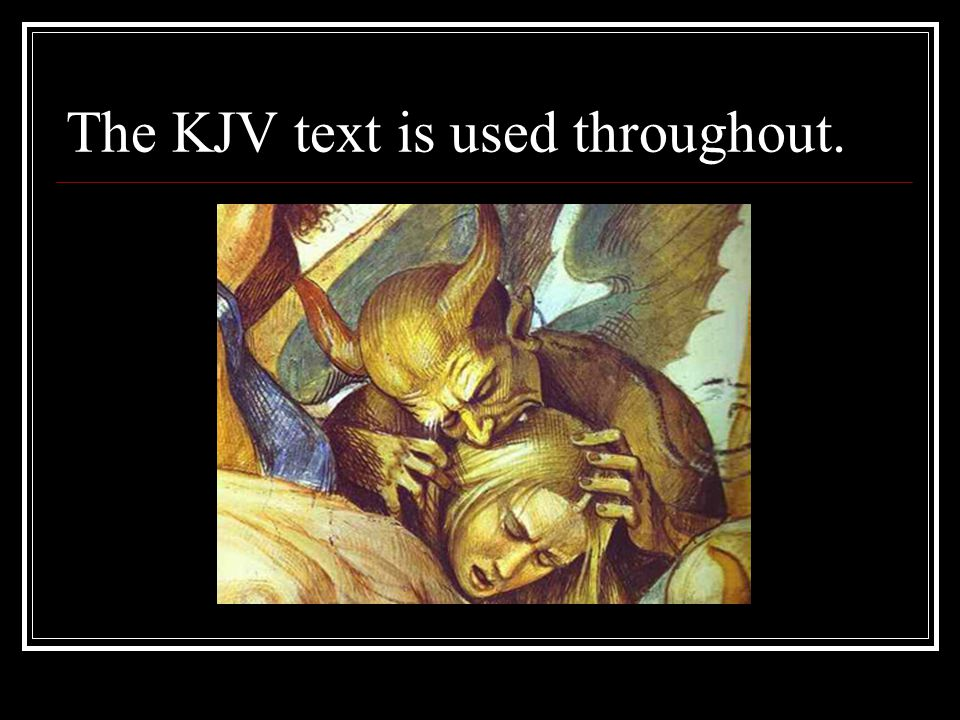 The KJV text is used throughout.