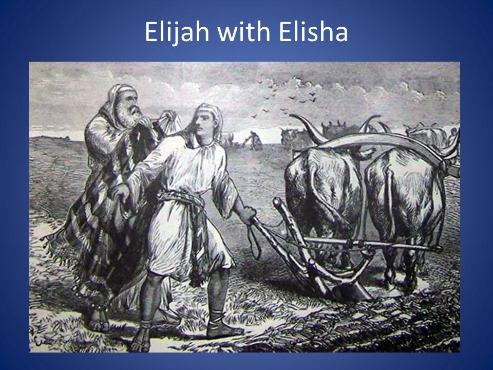 Elijah with Elisha
