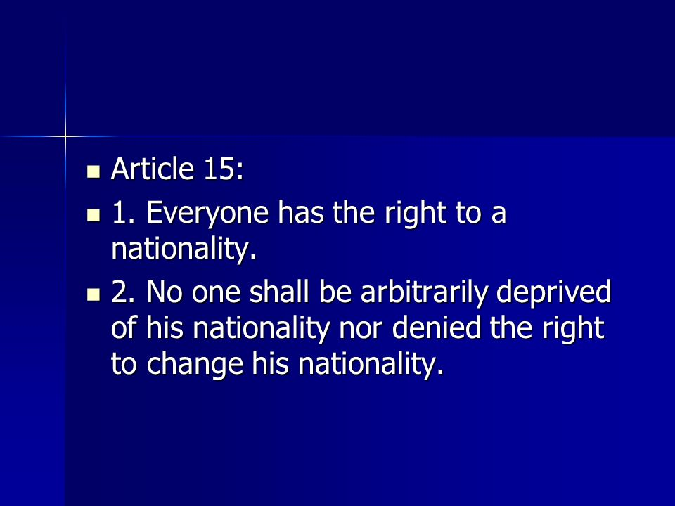 Article 12:No one shall be subjected to arbitrary interference with his privacy, family, home or correspondence, nor to attacks upon his honour or attacks.
